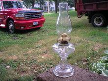 OLD OIL LAMP COLLECTOR KEROSENE LAMPS O