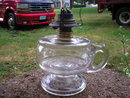OLD ANTIQUE OIL FINGER LAMP VINTAGE LANTERN LAMPS O
