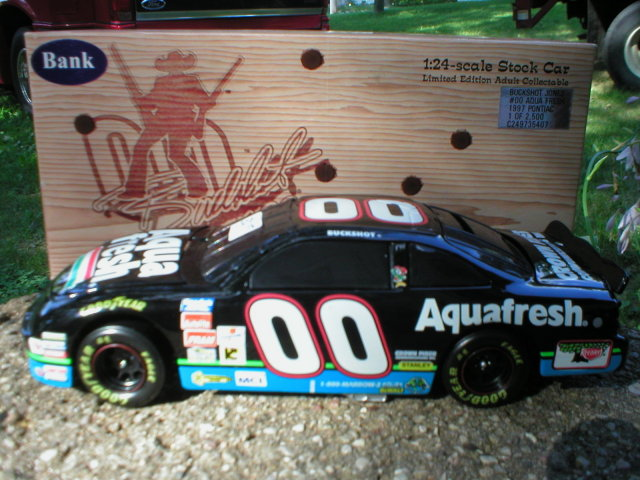 BUCKSHOT JONES 1:24 ACTION 1997 DIECAST CAR J