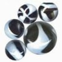 ZEBRA TOY MARBLES ONE BAG