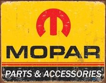 RETRO MOPAR SIGN COLLECTOR ADV METAL SIGNS M