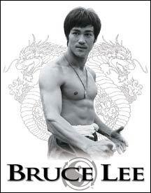BRUCE LEE YING YANG TIN SIGN
