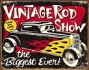 VINTAGE RODSHOW TIN SIGN