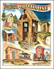 AMERICAN OUTHOUSE TIN SIGN