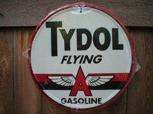 TYDOL OIL GASOLINE TIN SIGN