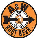 A & W ROOTBEER TIN SIGN