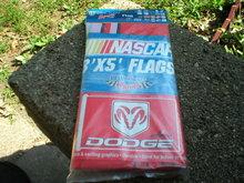 DODGE 3 x 5  EVERNHAM MOTORSPORTS NASCAR FLAG D