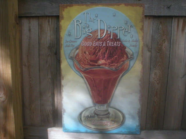 THE BIG DIPPER TIN SIGN