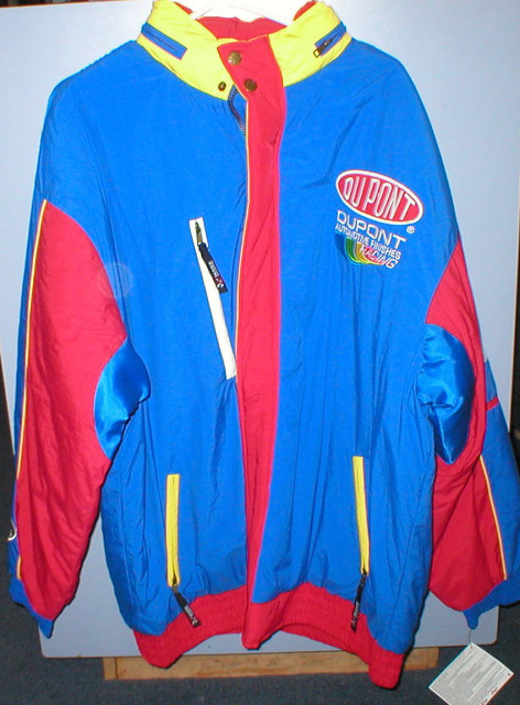 JEFF GORDON NYLON COAT SIZE XL NASCAR JACKET G