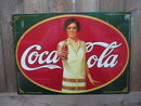COCA-COLA COKE METAL TIN SIGN