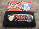 ROAD REBEL POCKET KNIFE IN COLLECTOR TIN BOX  R