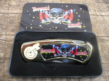 SOUTHERN REBEL POCKET KNIFE IN COLLECTOR TIN BOX  R
