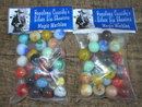 TWO BAGS OF HOPALONG CASSIDY MARBLES COLLECTOR MARBLE H