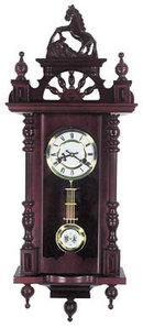 LIPPINZANER HORSE CLOCK VICTORIAN HOME DECOR