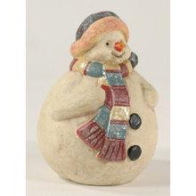 CAST IRON SNOWMAN UNIQUE CHRISTMAS GIFT S
