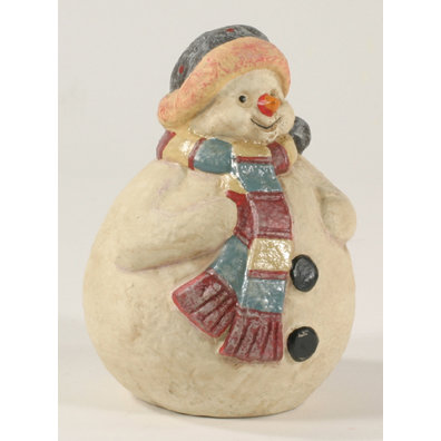 CAST IRON SNOWMAN UNIQUE CHRISTMAS GIFT S