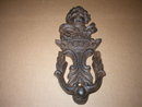 ANGEL DOOR KNOCKER CAST IRON