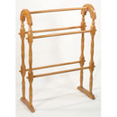 OAK QUILT RACK WOOD DISPLAY STAND