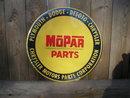 MOPAR PARTS METAL TIN SIGN