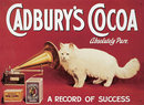 CADBURY'S COCOA METAL TIN SIGN