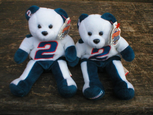 TWO NEW RUSTY WALLACE TEAM SPEED BEARS R