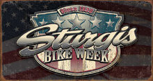 STURGIS BIKE WEEK METALTIN SIGN