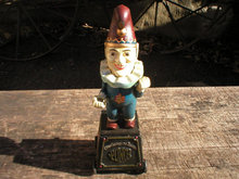 PUNCH CIGAR 5 CENTS BANK PULL TOY CAST IRON