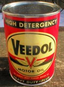 VEEDOL MOTOR OIL 32 FL. OZ. METAL CAN