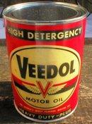 VEEDOL MOTOR OIL 32 FL. OZ. METAL CAN