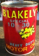 NEW BLAKELY'S SPECIAL MOTOR OIL 32 FL. OZ. METAL CAN