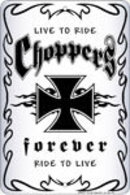 CHOPPERS FOREVER  ALUMINUM SIGN METAL ADV SIGNS C