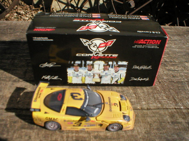 DALE EARNHARDT SR. AND JR. CHEVROLET CORVETTE C