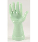 JADE JADITE JADEITE DECORATIVE GLASS HAND RING HOLDER H
