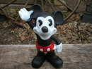 MICKEY MOUSE COIN BANK LARGE CAST IRON