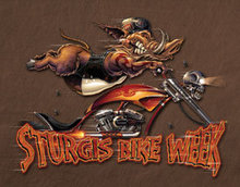 STURGIS MODERN BOAR TIN SIGN METAL ADV AD SIGNS S