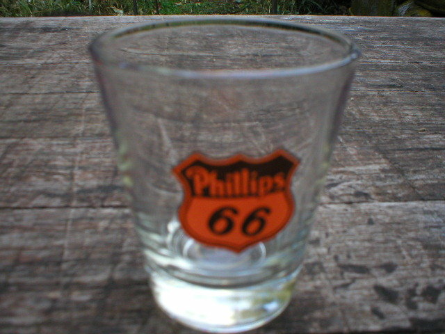 PHILLIPS 66 SHOTGLASS GAS STATION NOSTALGIA