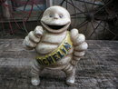 MICHELIN MAN STATUE CAST IRON