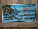 SPEER BULLETS TIN SIGN COLLECTOR AMMUNITION ADV SIGNS