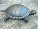 CAST IRON TURTLE IRON DECOR