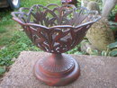 CAST IRON PLANT HOLDER DECORATIVE HOME DECK DECOR P