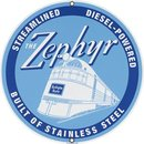 ZEPHYR PORCELAIN COATED SIGN