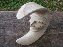 CAST IRON MAN IN THE MOON NUTCRACKER M