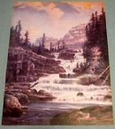 THE WATERFALL - FOX PRINT AD PIC COLLECTOR PRINTS NR P