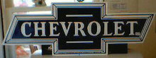 CHEVROLET BOWTIE METAL SIGN