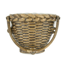 CAST IRON WOVEN BASKET DOORKNOCKER B