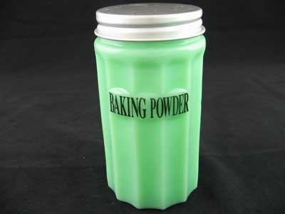 SMALL JADE JADITE JADEITE BAKING POWDER CANNISTER S