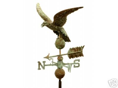 EAGLE COPPER WEATHERVANE BRASS DIRECTIONALS