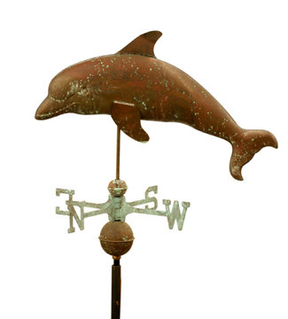 DOLPHIN WEATHERVANE & DIRECTIONALS D