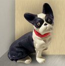CAST IRON BOSTON TERRIER DOORSTOP T