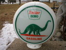NEW STYLE SINCLAIR DINO GASOLINE GAS PUMP GLOBE